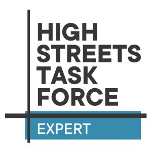 High Streets Task Force Expert logo