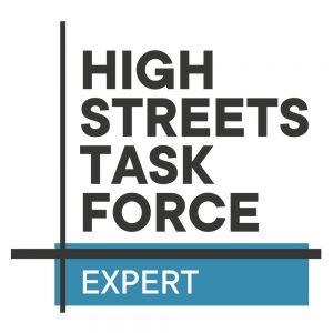 High Streets Task Force Expert logo